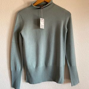 NWT French Connection rolled neck sweater S